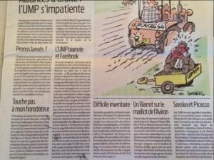 L'UMP Biarrote et Facebook