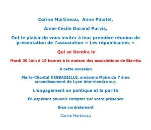 invitation républicaines